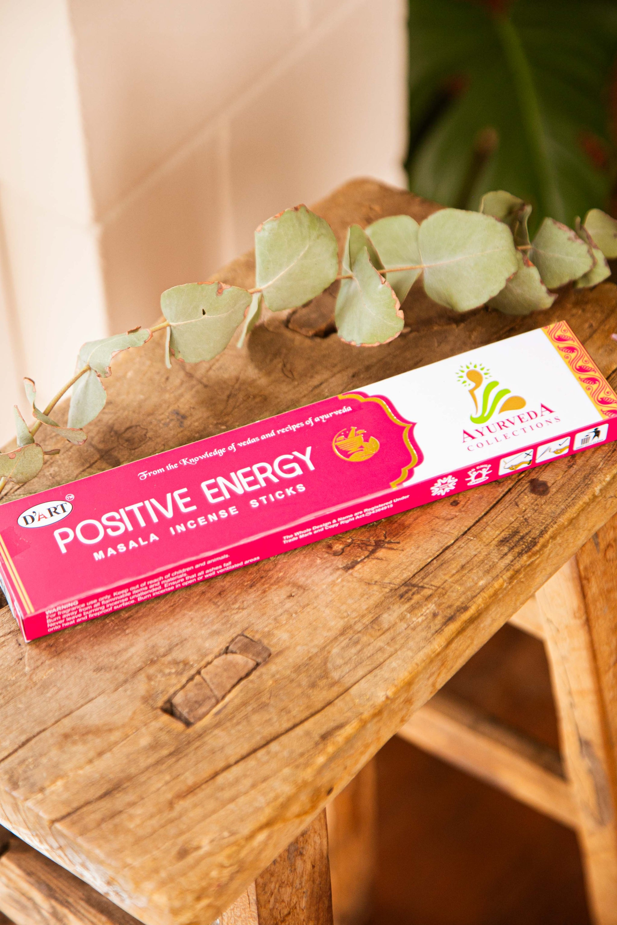 Ayurveda Incense Positive Energy