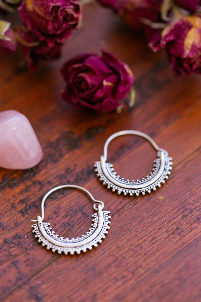 Silver Lillian Earrings