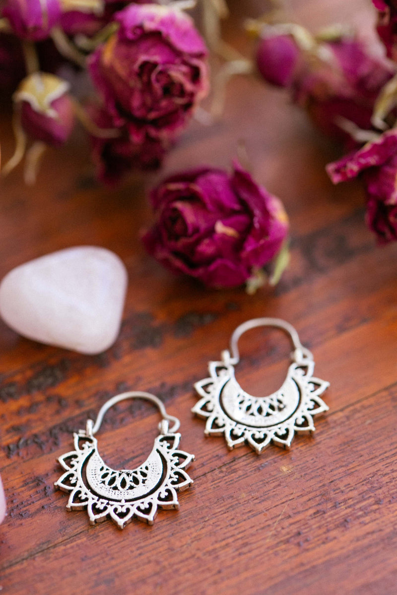 Silver Ayla Earrings