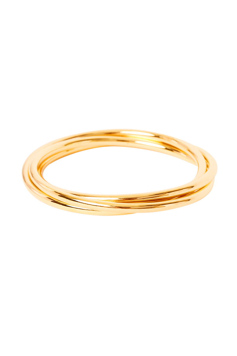 Gold Amaris Bangle