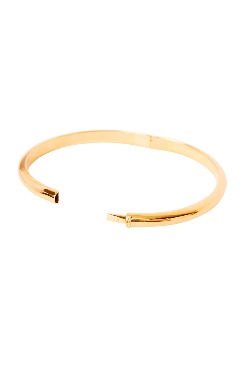 Gold Elu Bangle