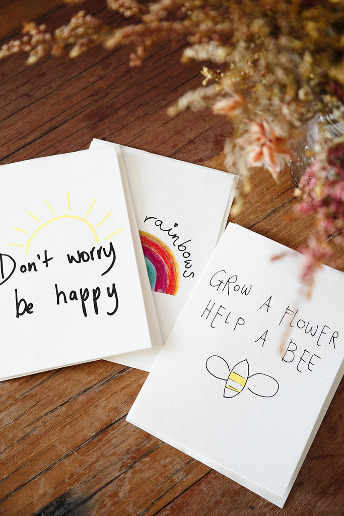 Don't Worry Be Happy Card