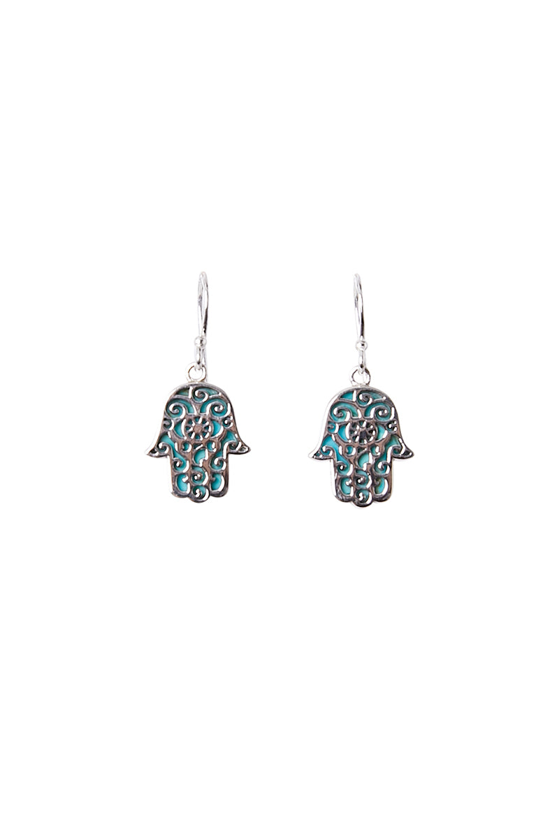 Ansel Hamsa Earrings
