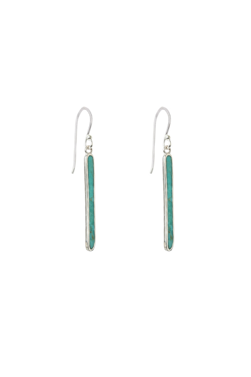 Dex Long Bar Earrings