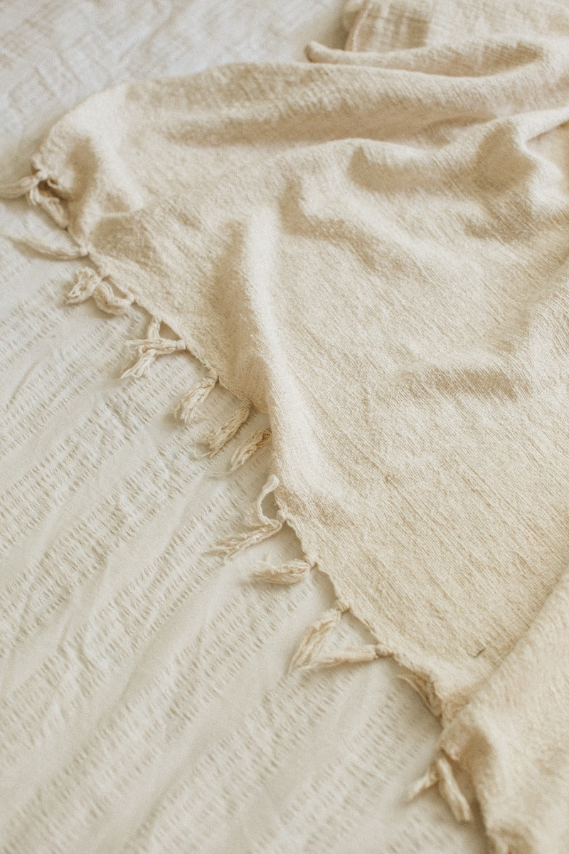 Natural Handloom Throw