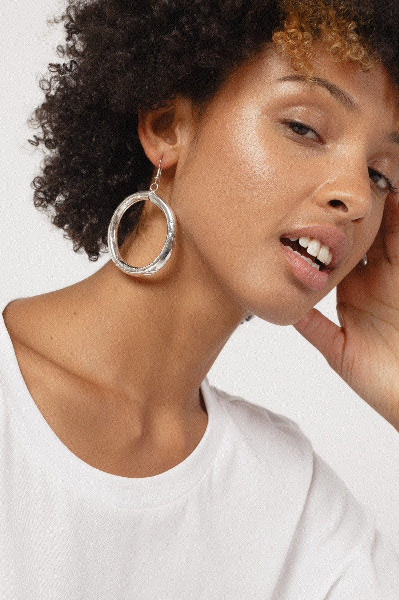 Silver Goldie Earrings