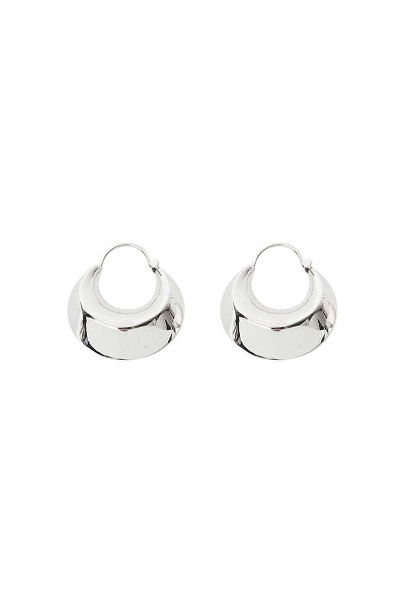 Saga Silver Earrings
