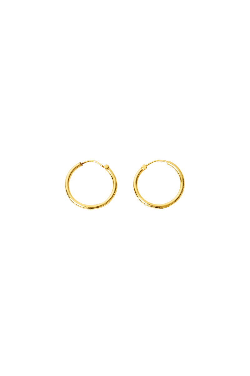 Gold May Earrings