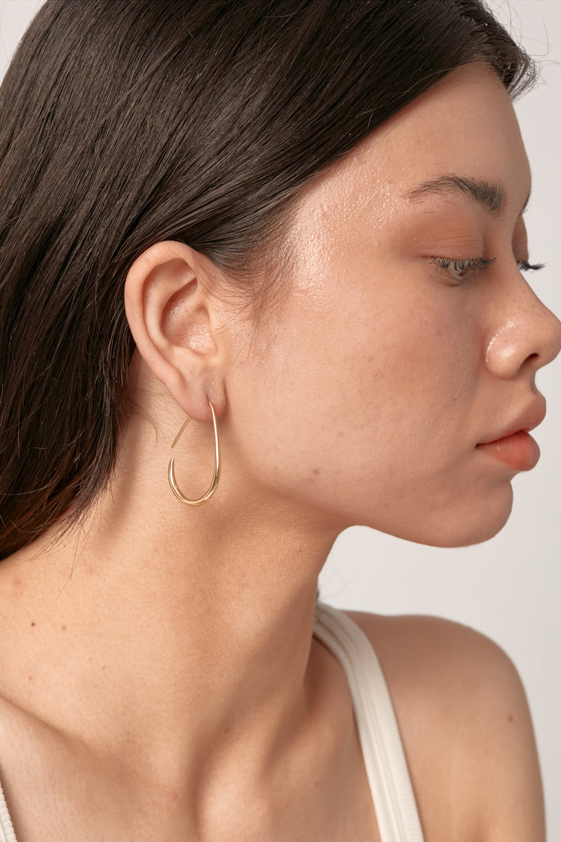 Gold Leigh Earrings