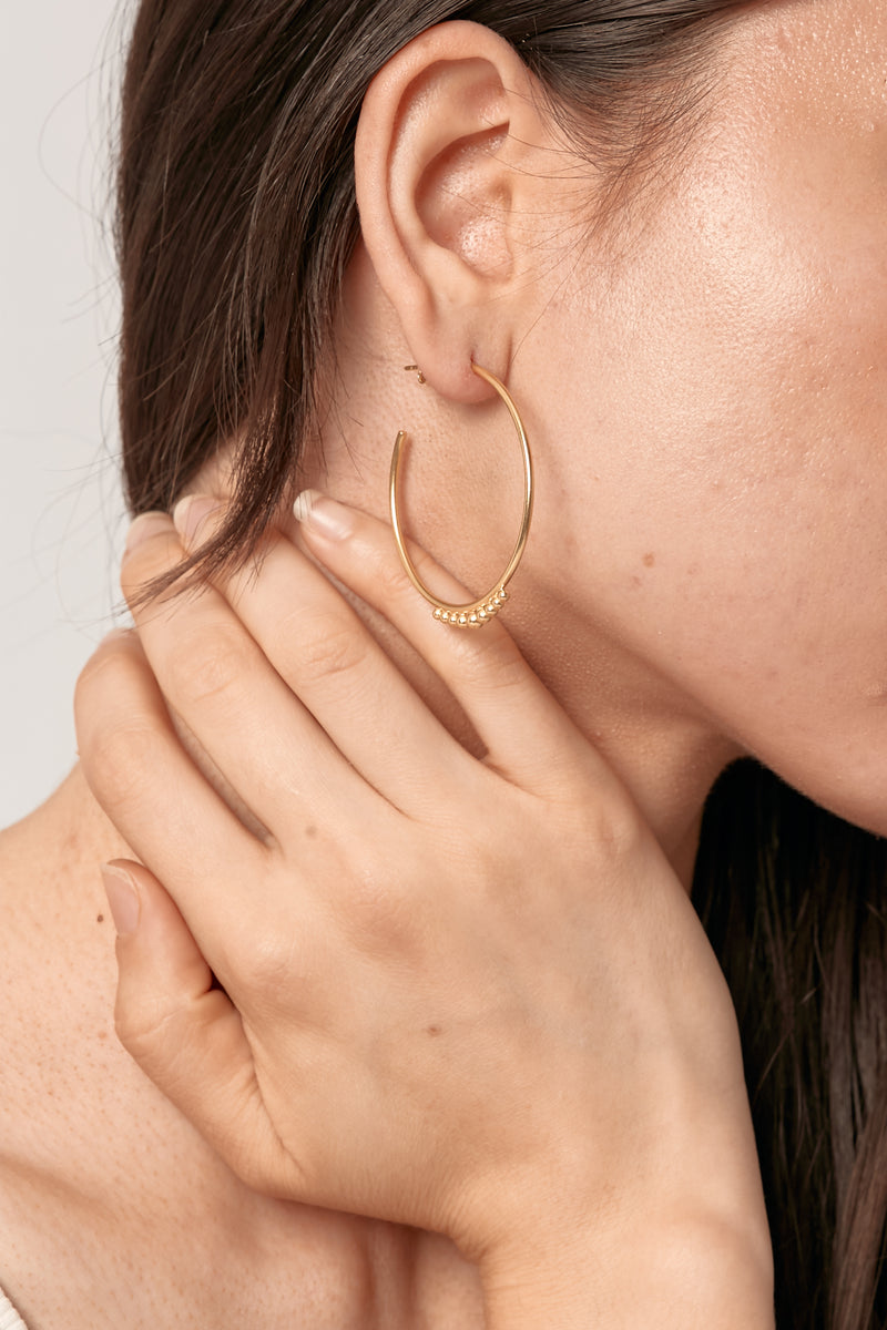 Gold Alina Earrings
