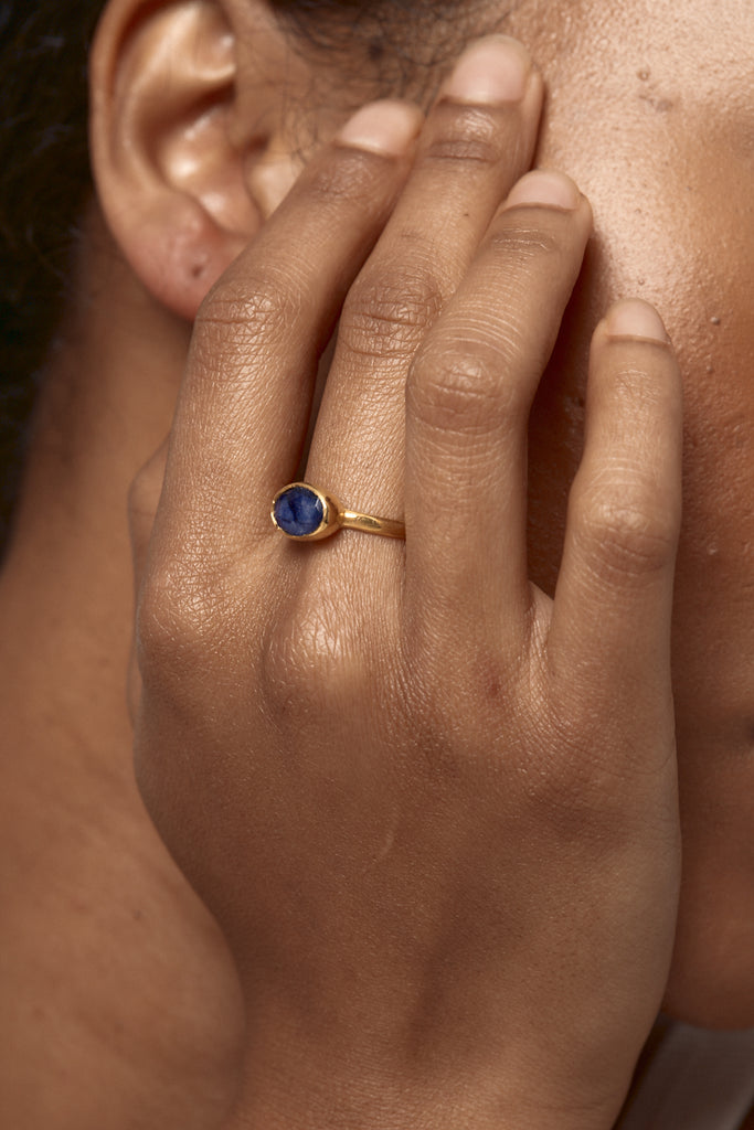 Gold Kani Ring