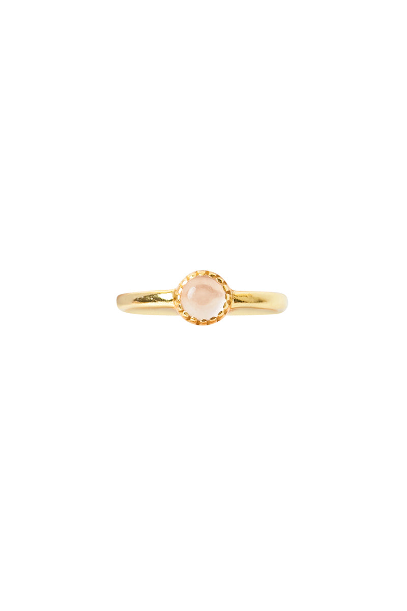 Gold Rond Ring