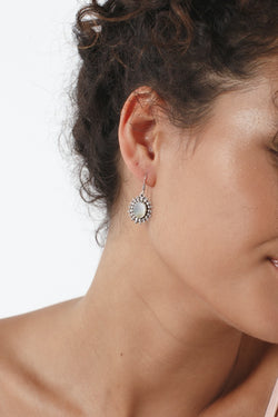 Round Detailed Earrings
