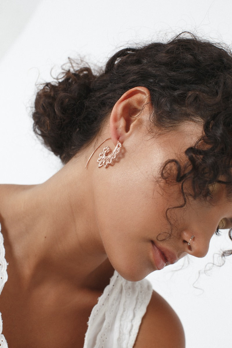 Wavy Hook Earrings