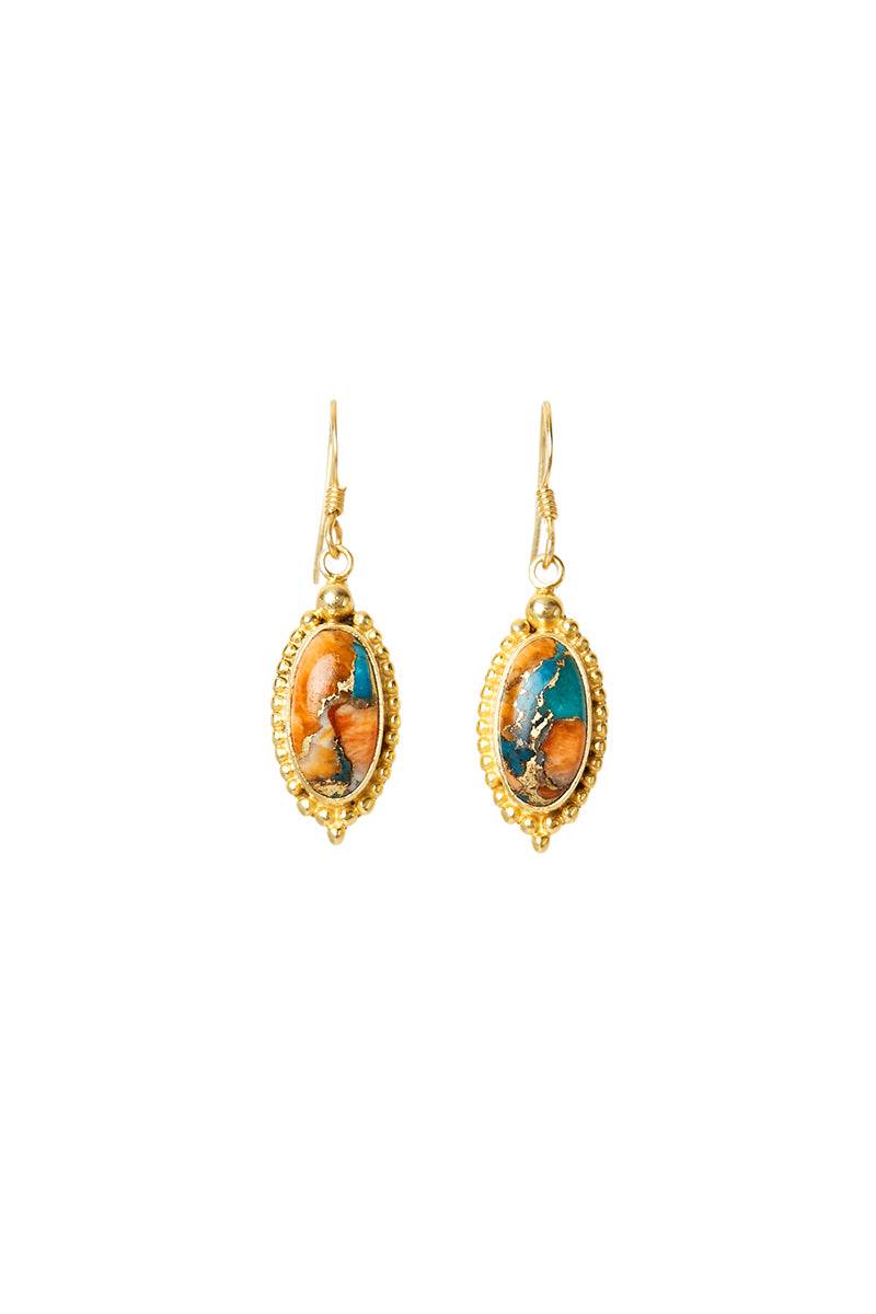 Gold Omaja Earrings