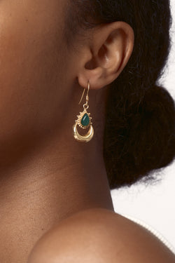 Gold Damia Earrings