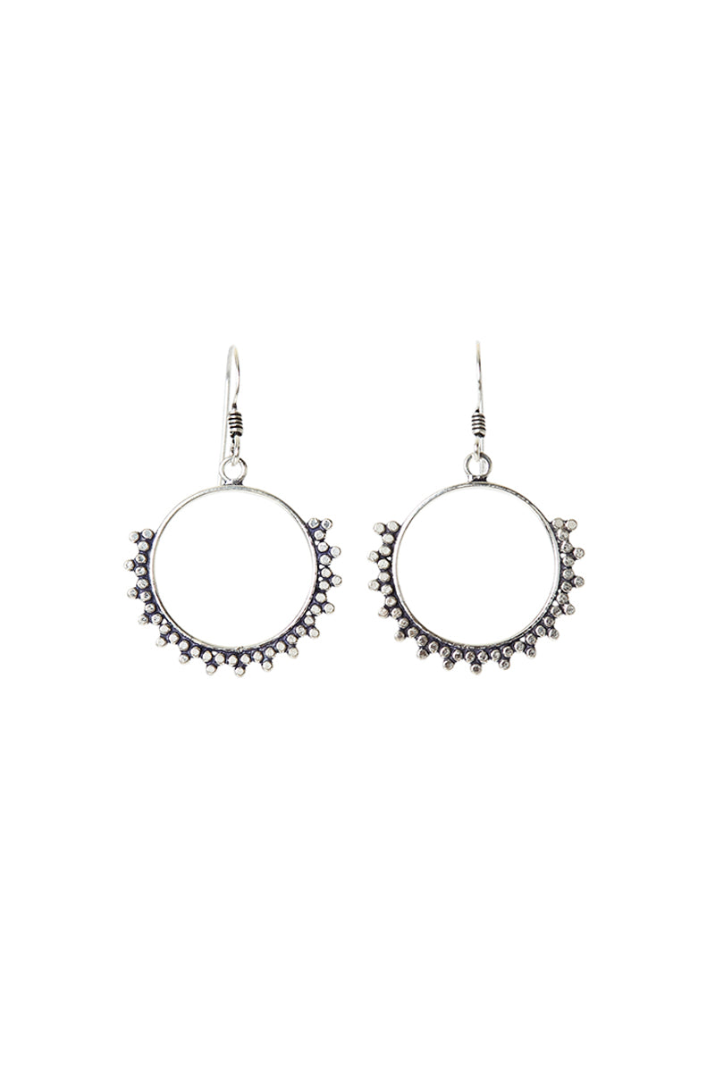 Ray Hoop Earrings