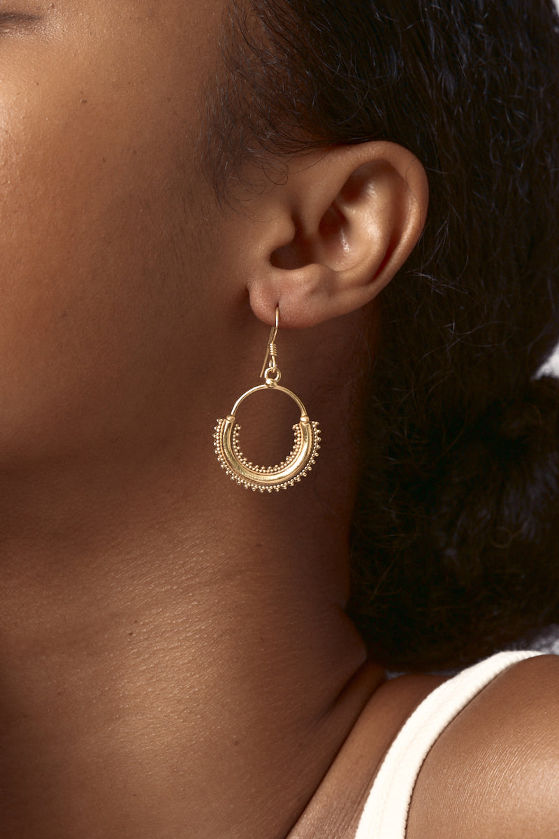 Gold Guru Earrings