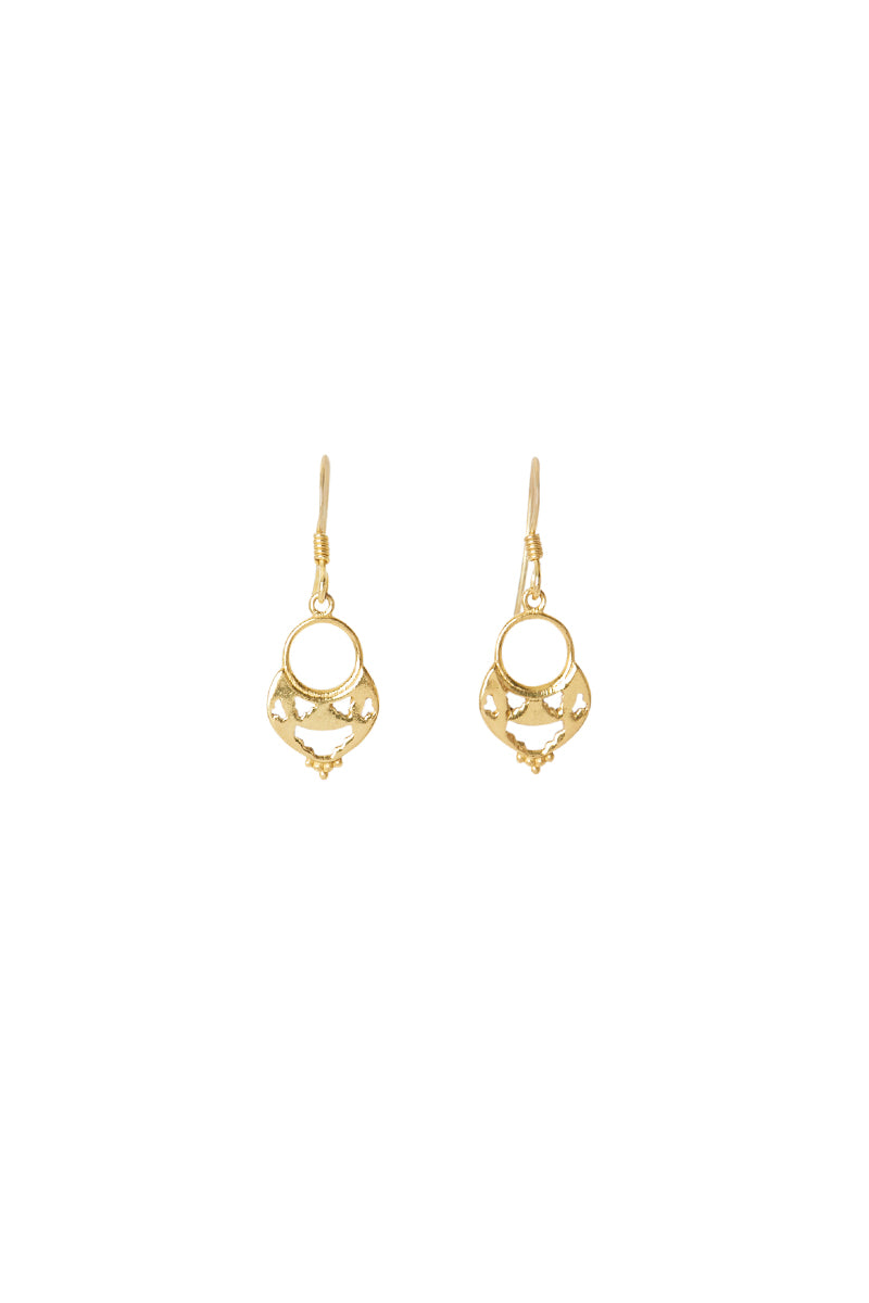Gold Atlas Earrings