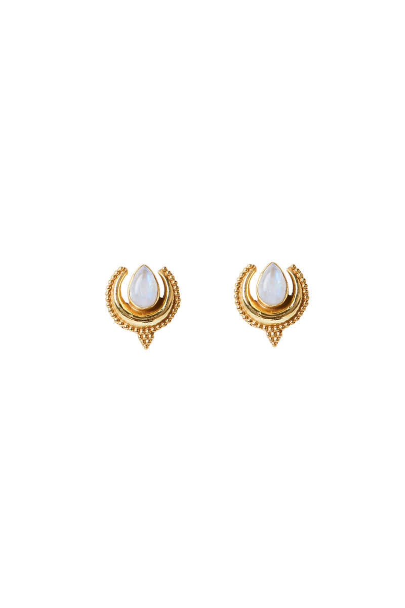 Gold Nixie Studs