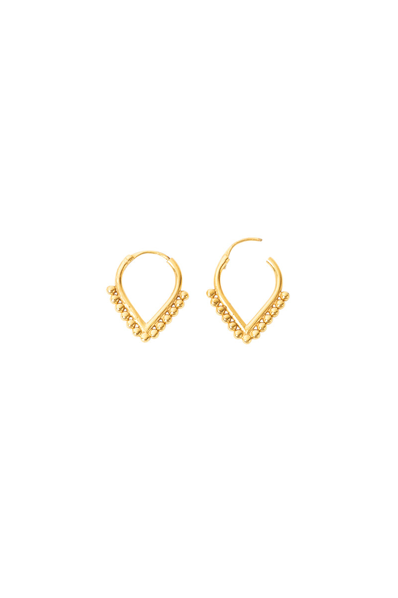 Gold Llana Earrings