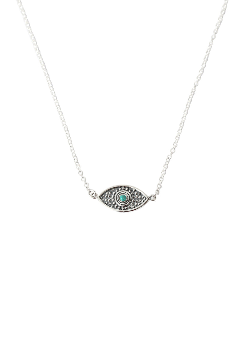 Oeil Turquoise Eye Necklace