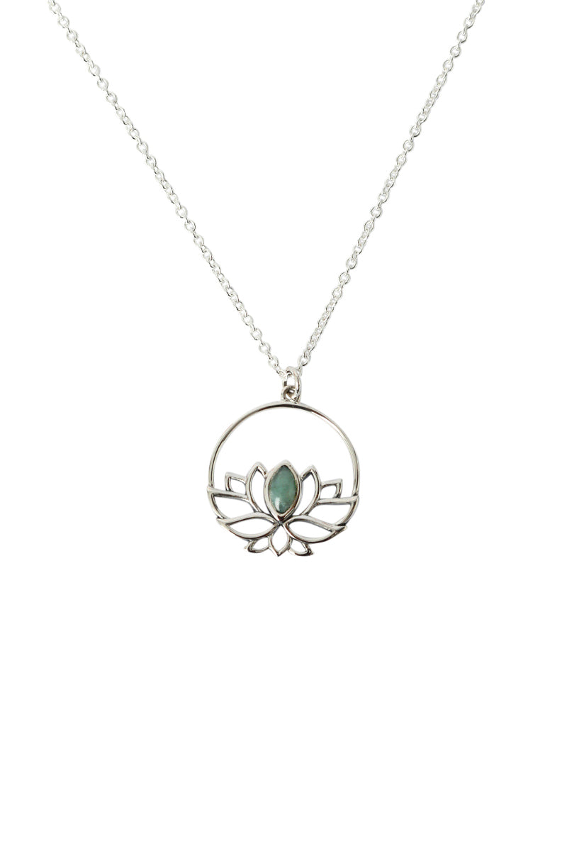 Teratai Lotus Necklace