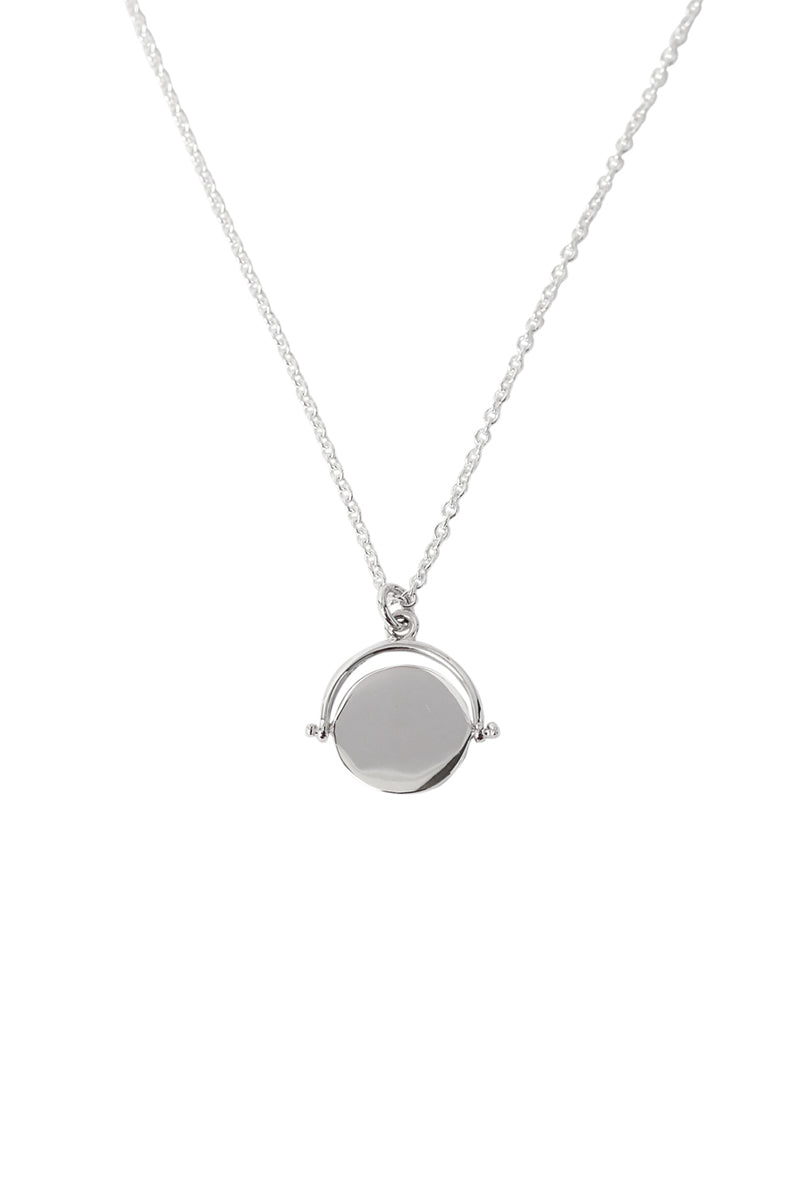 Signet Medallion Necklace