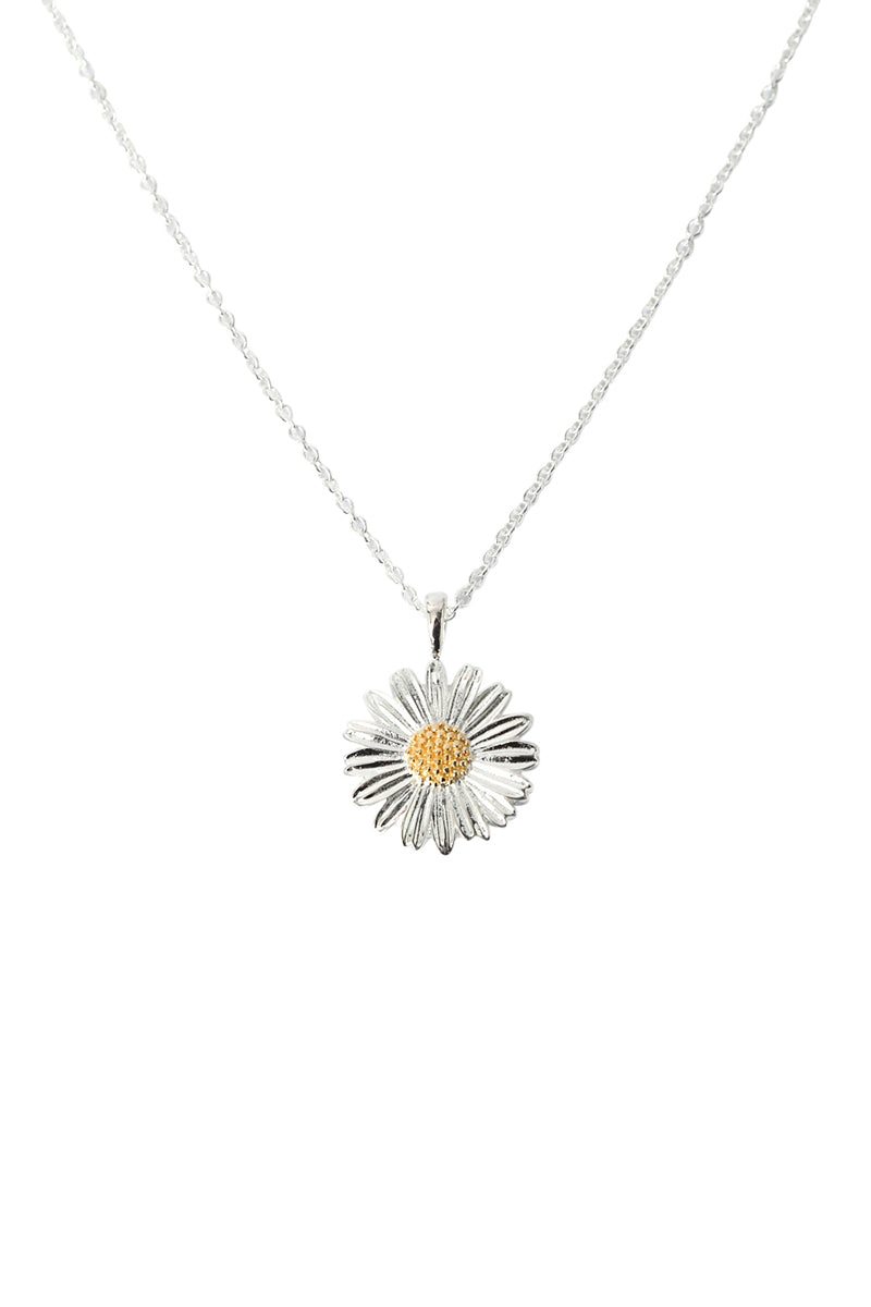 Gold Susa Flower Necklace