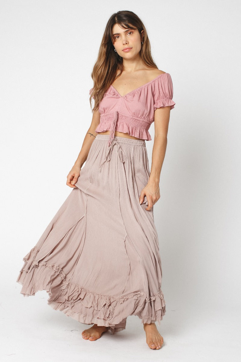 Rose Dust Skirt