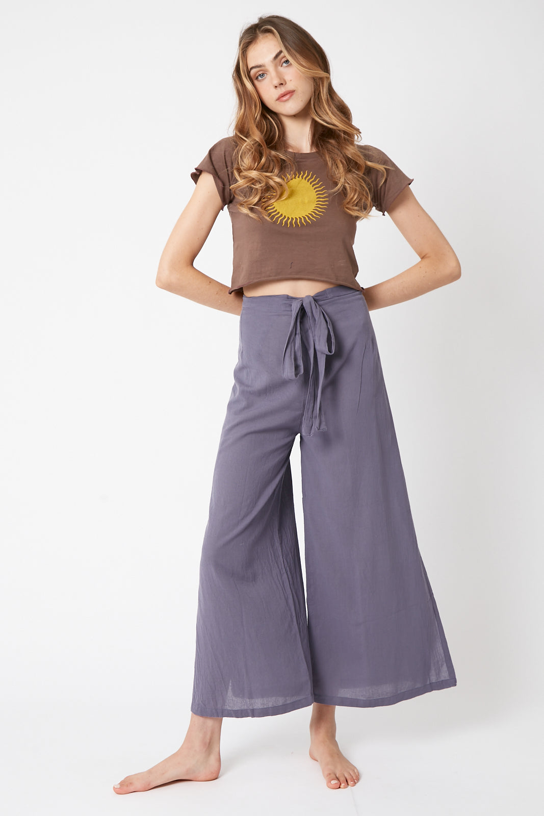 Lotus Wrap Pants
