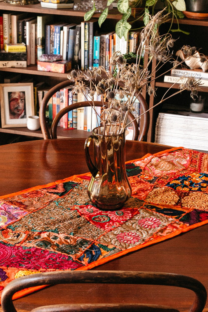 Aari Table Runner