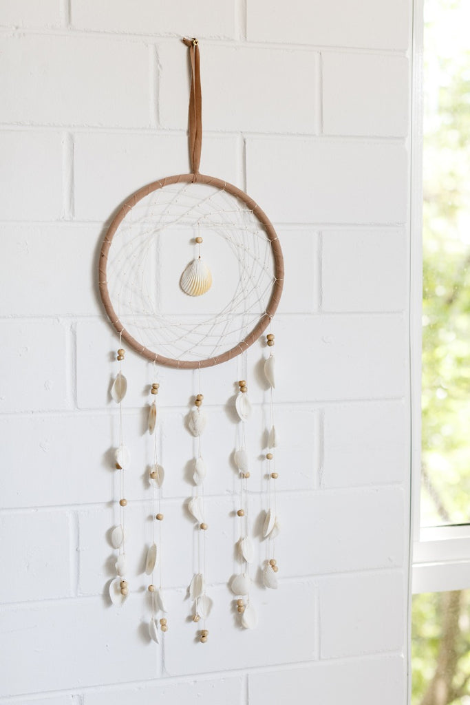 Cove Shell Dreamcatcher