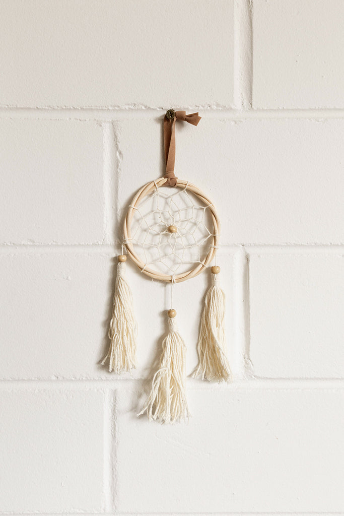 Mini Rattan Dreamcatcher
