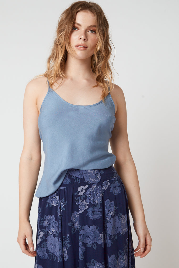 Belle Slip Top