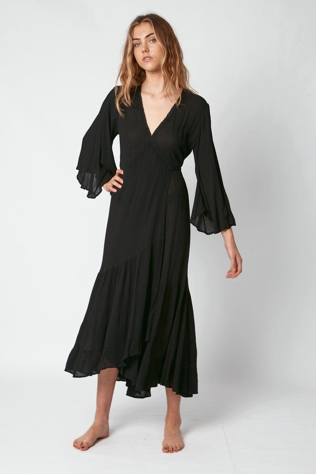 Romantika Wrap Dress