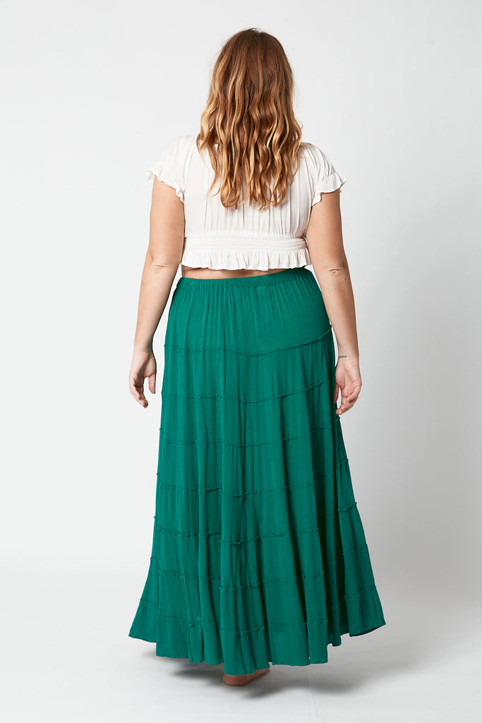 Tiered Skirt (Free Size)