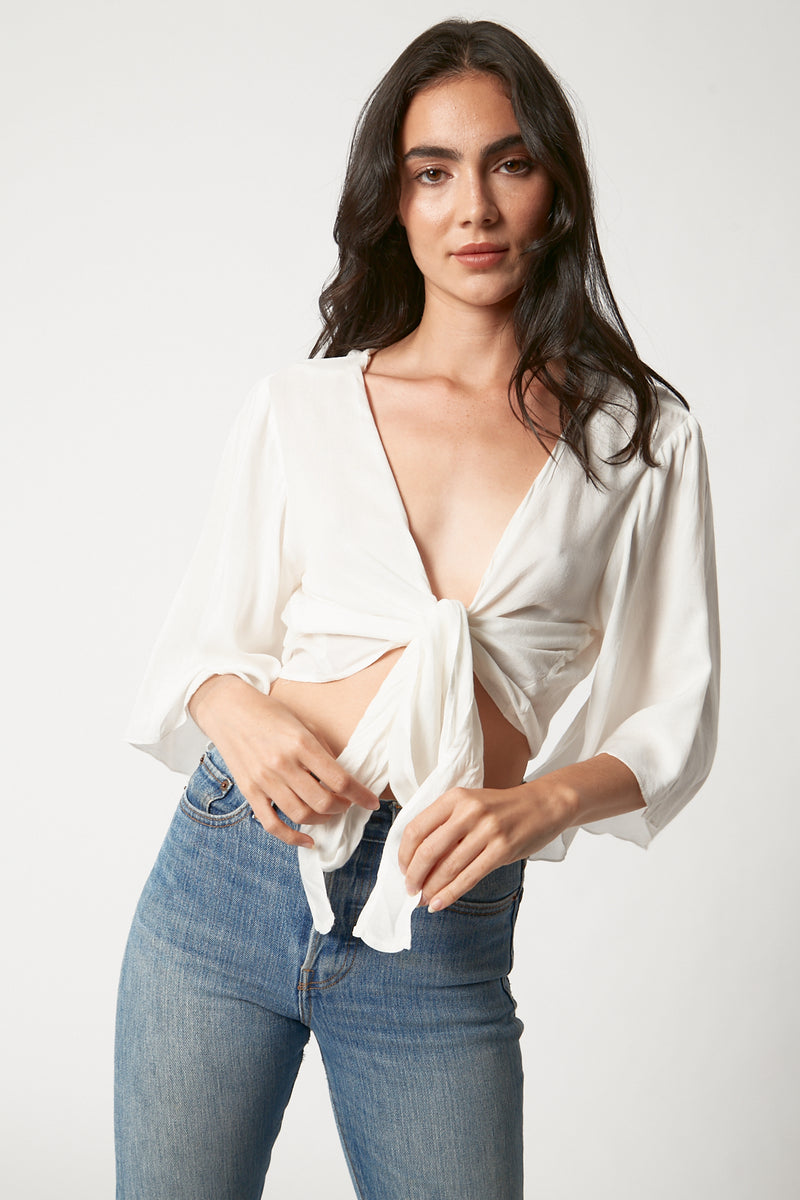 Drifting Wrap Top