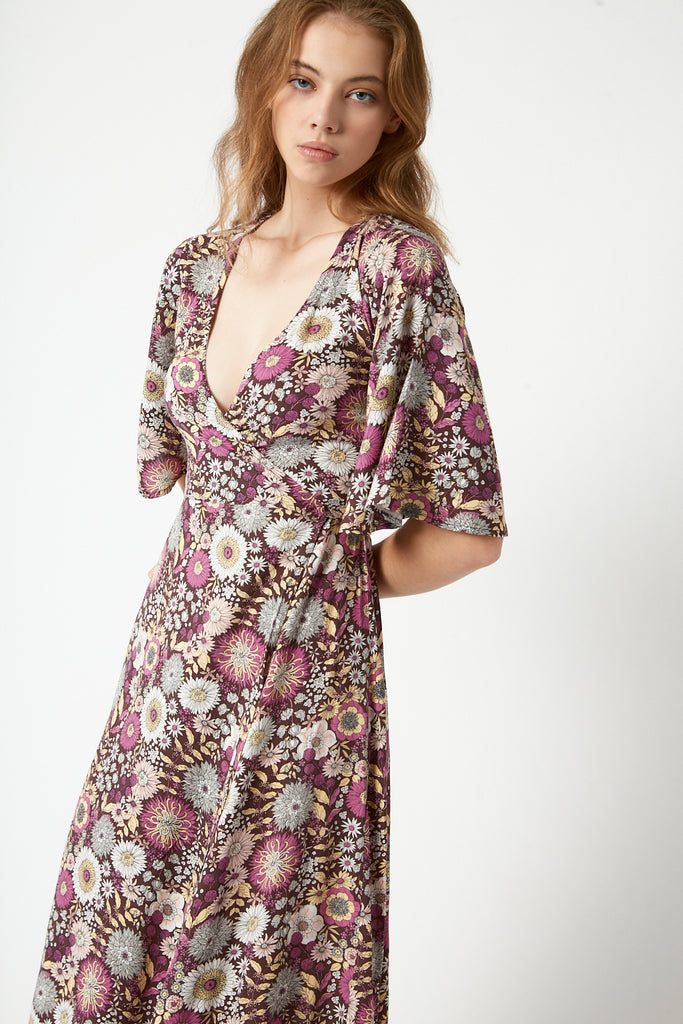 Amy Wrap Dress