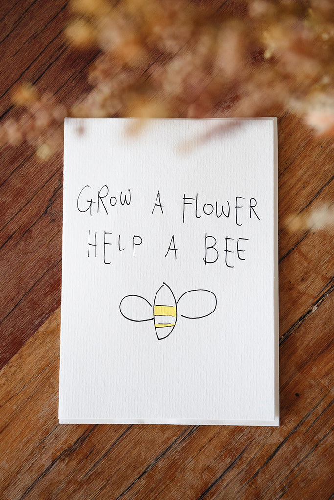 Grow A Flower Card