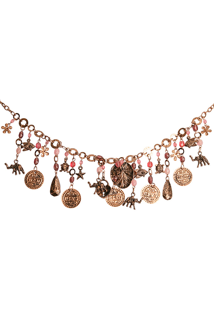 Indian Charm Necklace