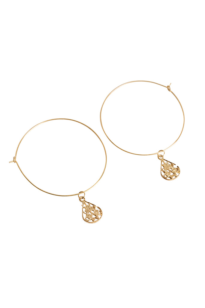 Andrina Hoop Earrings