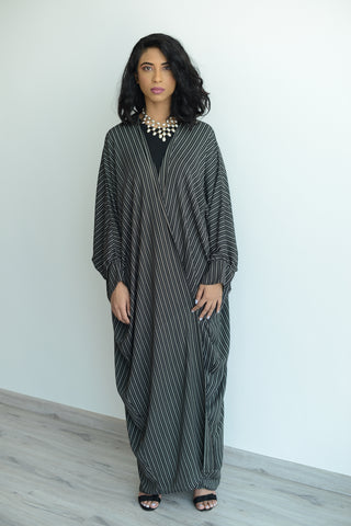 Read between the Lines Batwing Kimono
