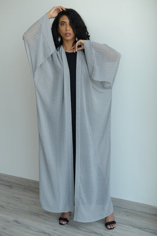Stars on a Grey Night Kimono Wrap