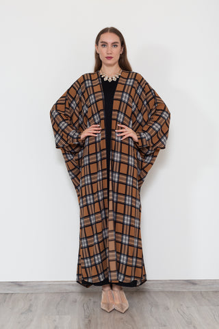 Thatched Roof Batwing Kimono