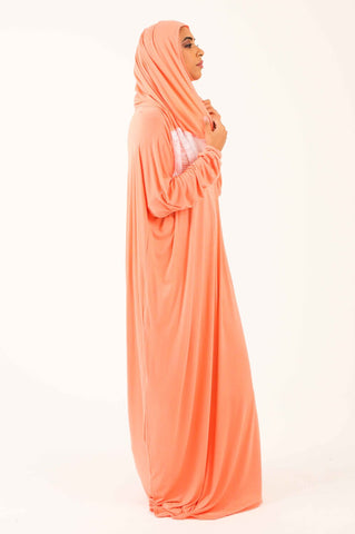 Prayer Onesie - Peach