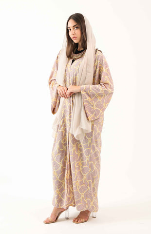 Chains of Loyalty Kimono Abaya