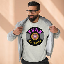 Load image into Gallery viewer, Funk Record Unisex Premium Crewneck Sweatshirt