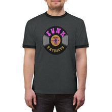 Load image into Gallery viewer, Funk Record Unisex Ringer Tee