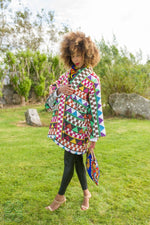 Load image into Gallery viewer, Miishee Kimono Coat